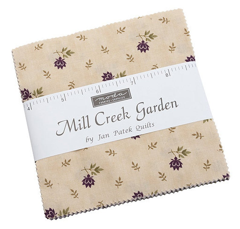 "MODA MILL CREEK GARDEN 5"" CHARM PACK - PRE-ORDER"