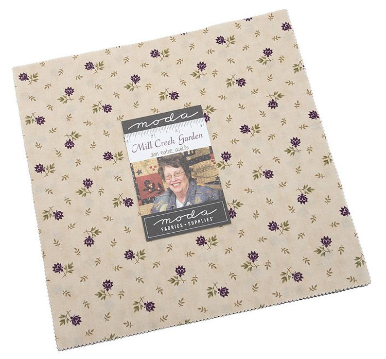 "Moda MILL CREEK GARDEN Layer Cake 10"" Squares"