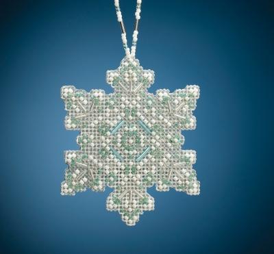 Mill Hill Aqua Mist Snowflake