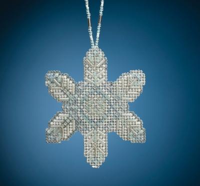 Mill Hill Opal Ice Snowflake Cross Stitch Kit