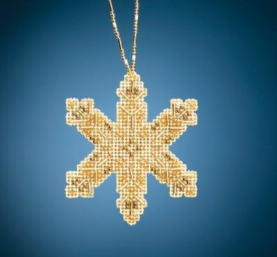 Mill Hill Victorian Snowflake Cross Stitch Kit