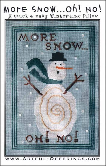 Artful Offerings OH NO MORE SNOW Punch Needle Pattern
