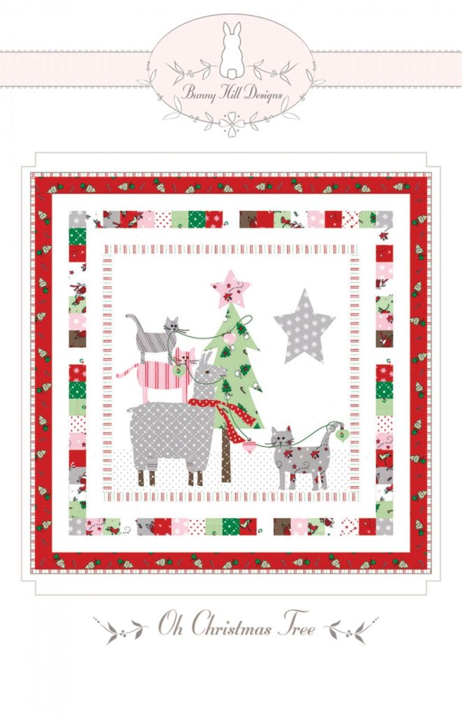 Bunny Hill Designs OH CHRISTMAS TREE Quilt Pattern