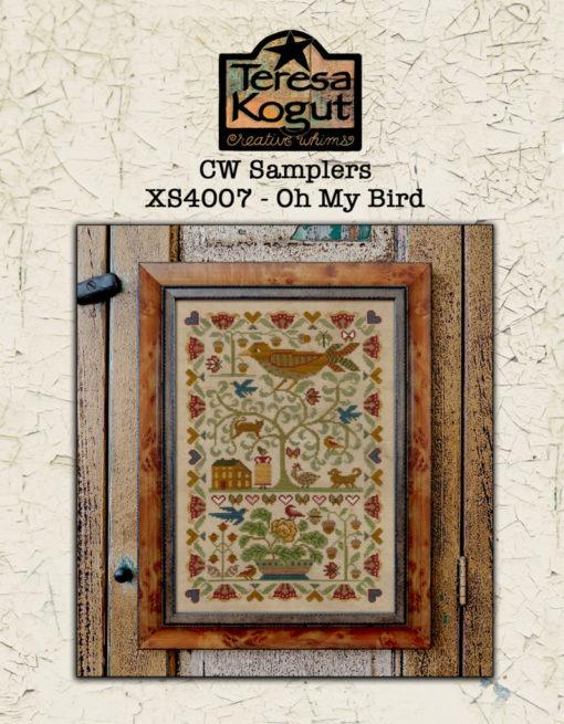 Teresa Kogut OH MY BIRD Cross Stitch Pattern