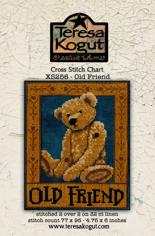 Teresa Kogut OLD FRIEND Cross Stitch Pattern