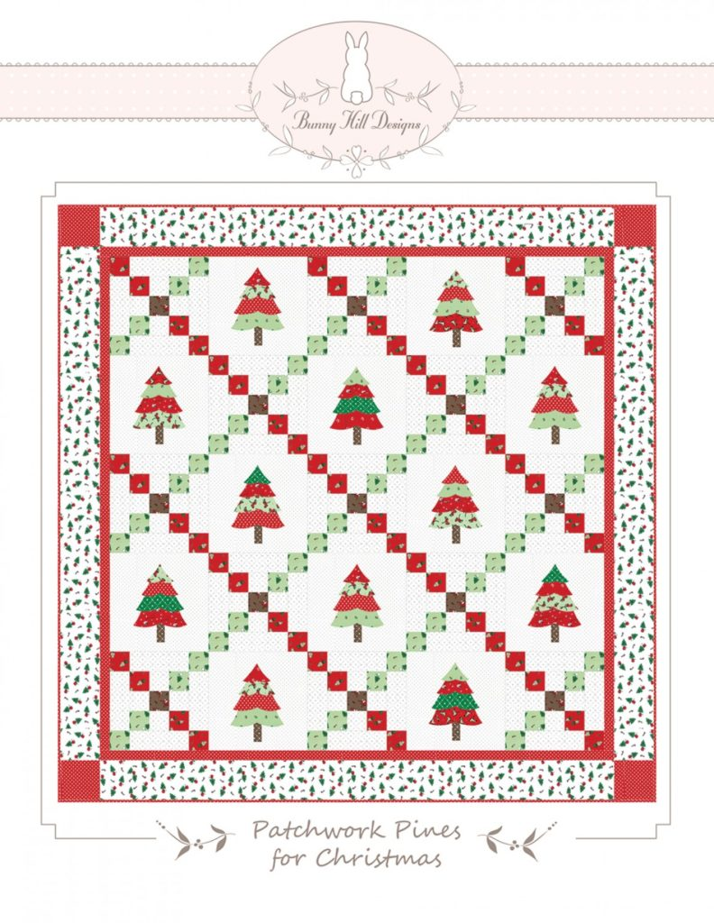 Bunny Hill Designs PATCHWORK PINES QUILT Pattern