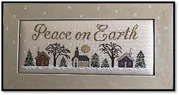 Kay's Frames & Designs PEACE ON EARTH Cross Stitch Pattern