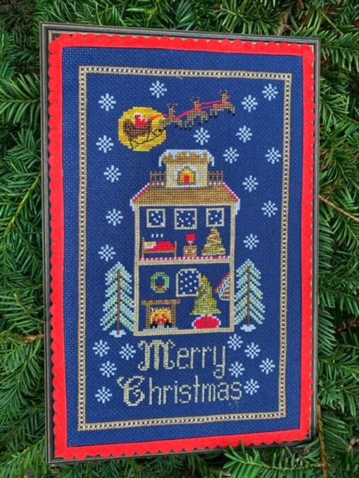 Pickle Barrel Designs CHRISTMAS CUTAWAY Cross Stitch Pattern