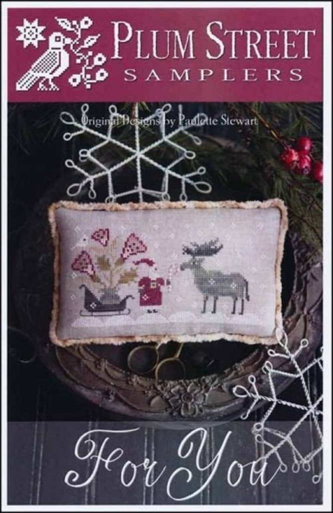 Plum Street Samplers FOR YOU Cross Stitch Pattern