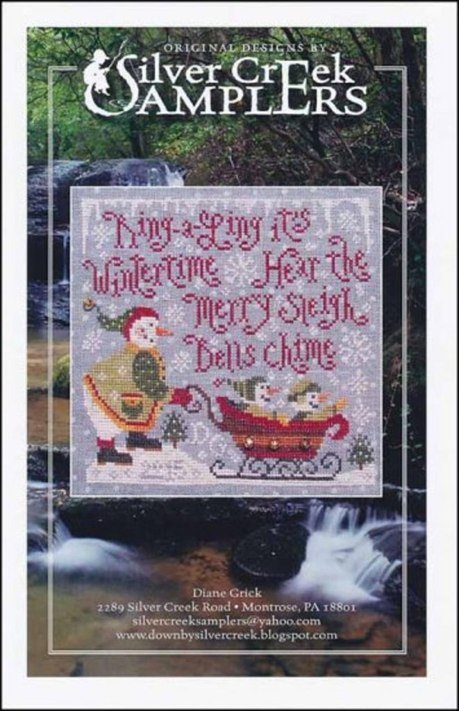 Silver Creek Samplers MERRY SLEIGHBELLS Cross Stitch Pattern