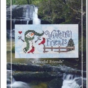 Silver Creek Samplers WINTERFUL FRIENDS Cross Stitch Pattern