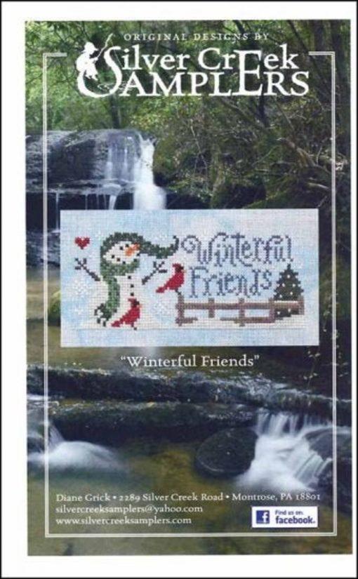 Silver Creek Samplers WINTERFUL FRIENDS Cross Stitch Pattern