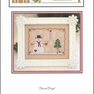 Country Cottage Needleworks SNOW DAYS Cross Stitch Pattern