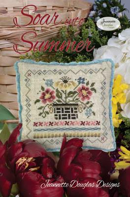 Jeannette Douglas Designs Soar INTO SUMMER Cross Stitch Pattern