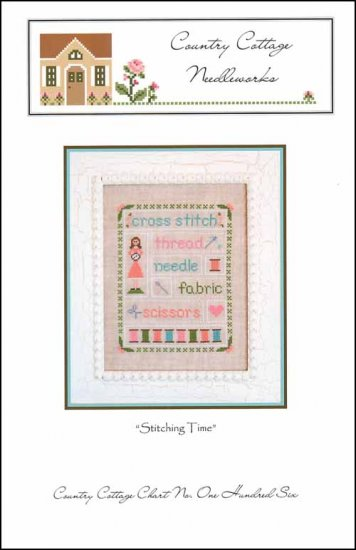 Country Cottage Needleworks STITCHING TIME Cross Stitch Pattern