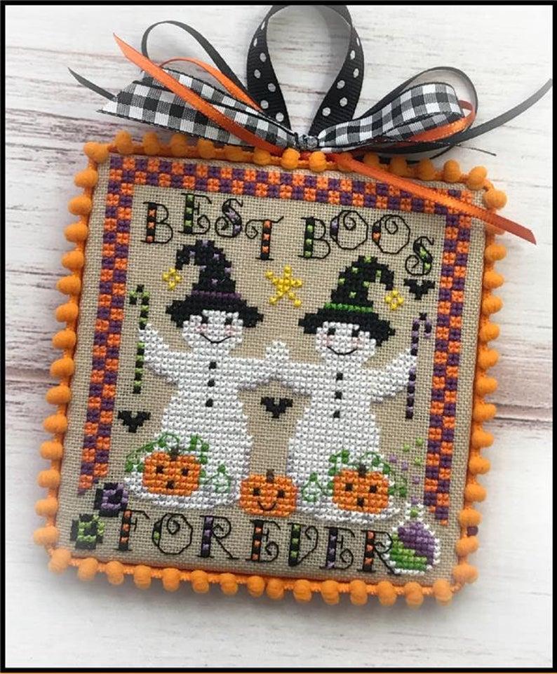 Sugar Stitches BOOVILLE BEST BOOS Cross Stitch Pattern