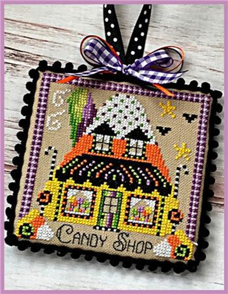 Sugar Stitches BOOVILLE CANDY SHOP Cross Stitch Pattern