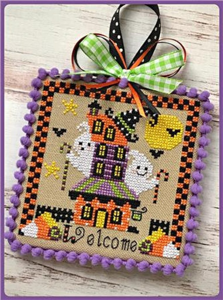 Sugar Stitches BOOVILLE INN Cross Stitch Pattern
