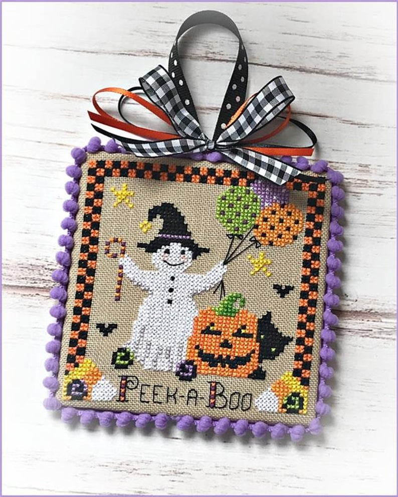 Sugar Stitches BOOVILLE PEEK-A-Boo Cross Stitch Pattern