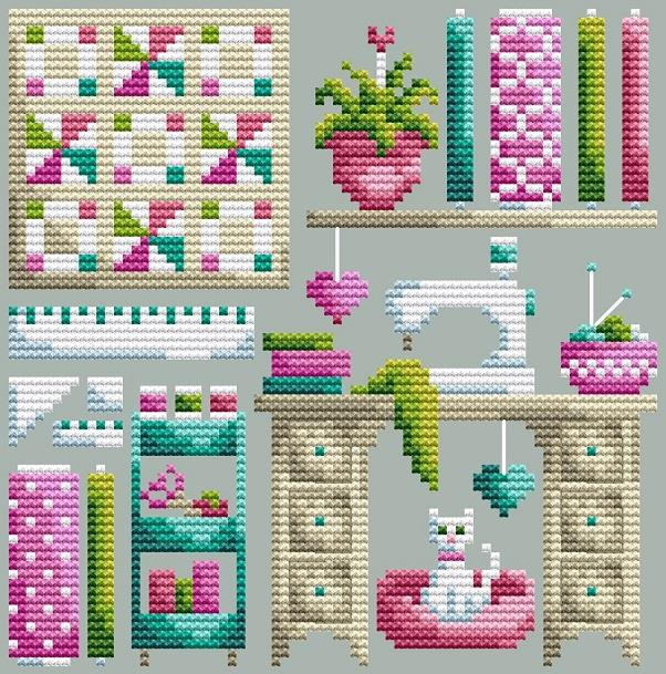 Shannon Christine THE SEWING ROOM Cross Stitch Pattern