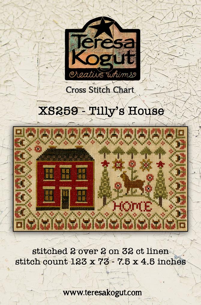 Teresa Kogut TILLY'S HOUSE Cross Stitch Pattern