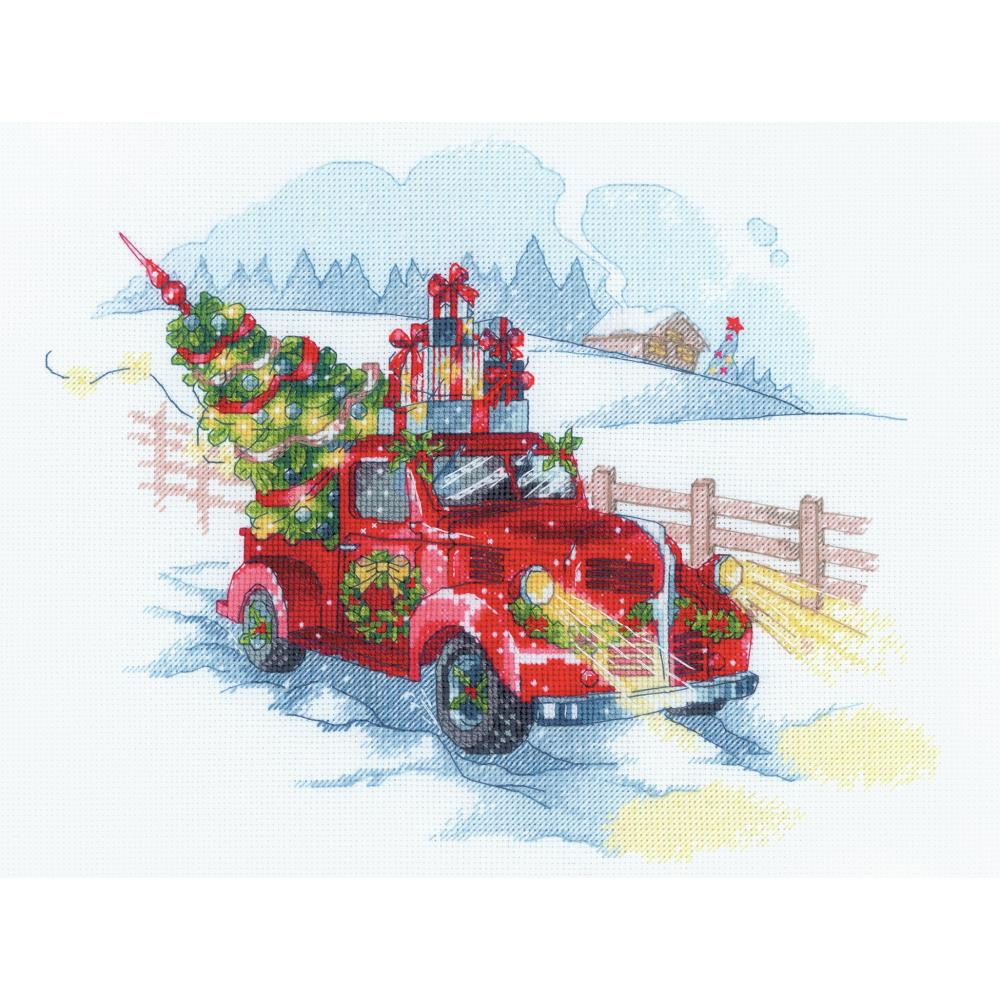 Riolis TO THE HOLIDAYS Cross Stitch Kit - New Cross Stitch Kit