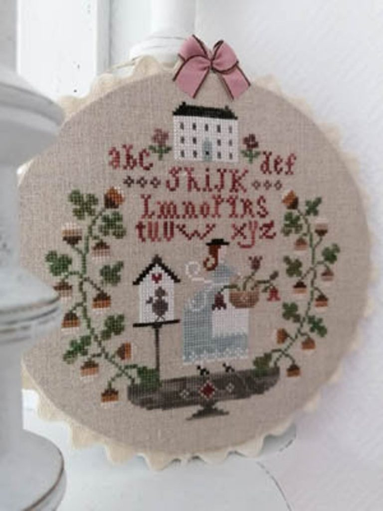 Tralala EN AUTOMNE 2 Cross Stitch Pattern
