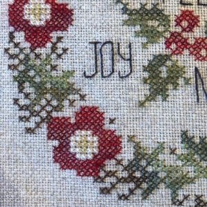 Jeannette Douglas Designs WINTER POSEY Cross Stitch Pattern