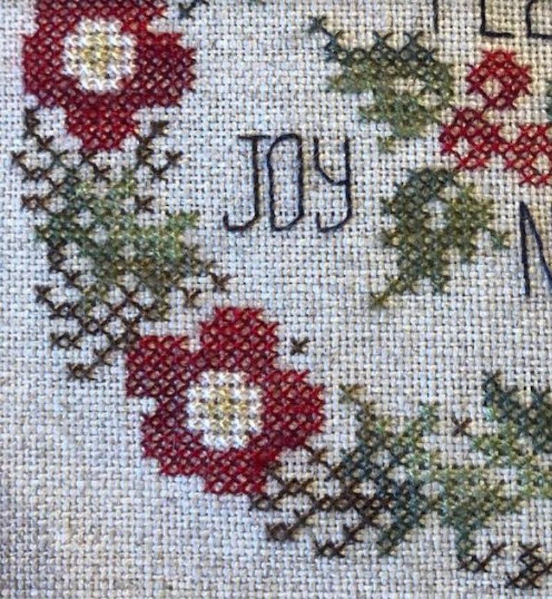 Jeannette Douglas Designs WINTER POSEY Cross Stitch Pattern