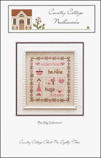 Country Cottage Needleworks BE MY VALENTINE Cross Stitch Pattern