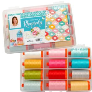 Aurifil Rhapsody Thread Collection – Coordinates with Lori Holt FLEA MARKET Fabric Collection