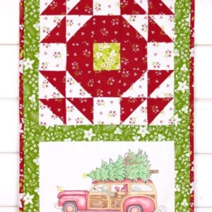 NEW Crabapple Hill Studio BRINGING HOME THE TREE Hand Embroidery Pattern