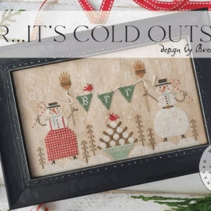 With Thy Needle & Thread Brr… IT'S COLD OUTSIDE! Cross Stitch Pattern