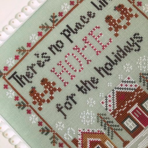 Country Cottage Needleworks HOME FOR The HOLIDAYS Cross Stitch Pattern