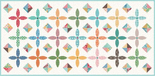 Flea Market by Lori Holt Table Runner Quilt Kit - Anabella_s