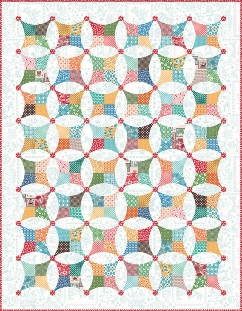 Flea Market by Lori Holt Window Boxed Quilt Kit - Anabella_s
