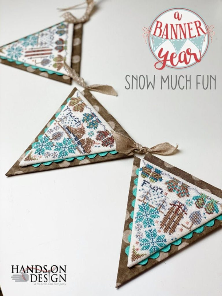 Hands on Design SNOW MUCH FUN Cross Stitch Pattern