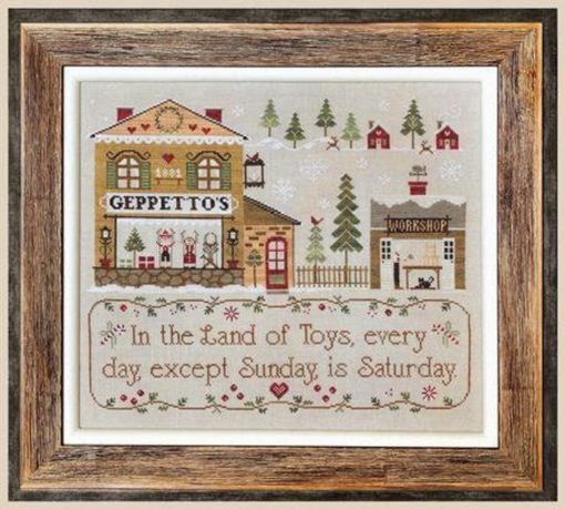 Little House Needleworks GEPPETTO'S Cross Stitch Pattern