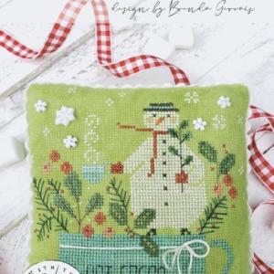 With Thy Needle & Thread WINTER ROSE MANOR Cross Stitch Pattern