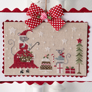 Tralala SOURIS NOEL Cross Stitch Pattern