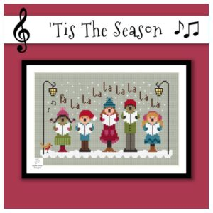 Little Dove Designs TIS THE SEASON Cross Stitch Pattern