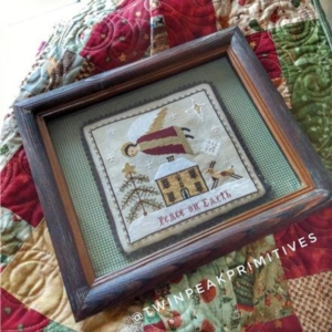 Twin Peak Primitives HOLY SPIRIT Cross Stitch Pattern ~ Christmas Cross Stitch