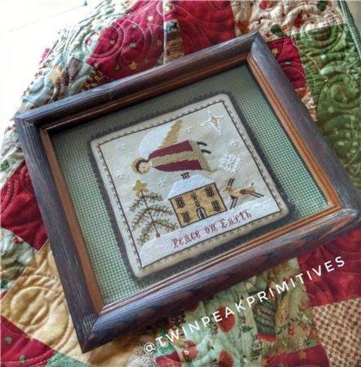 Twin Peak Primitives HOLY SPIRIT Cross Stitch Pattern ~ Christmas Cross Stitch