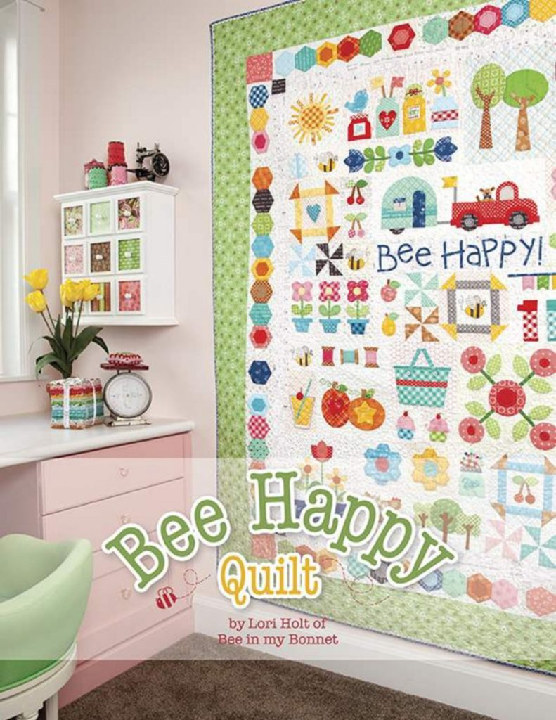 Lori Holt of Bee in My Bonnet Bee Happy Quilt Pattern
